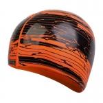 Шапочка для плавания Speedo Slogan Prt Cap Au Black/Orange (8-08385F946)