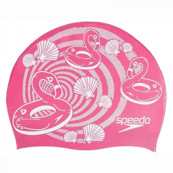 Шапочка для плавания детская SLOGAN PRT CAP JF