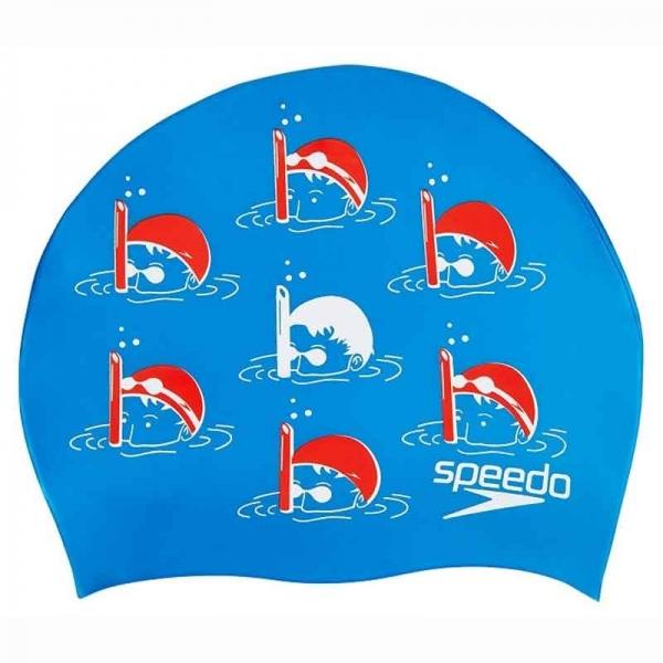 Шапочка для плавания детская SLOGAN PRT CAP JM