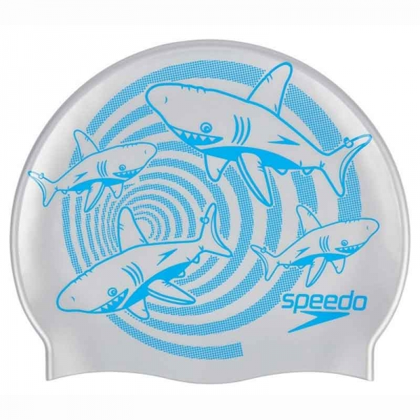 Шапочка для плавания детская SLOGAN PRT CAP JU