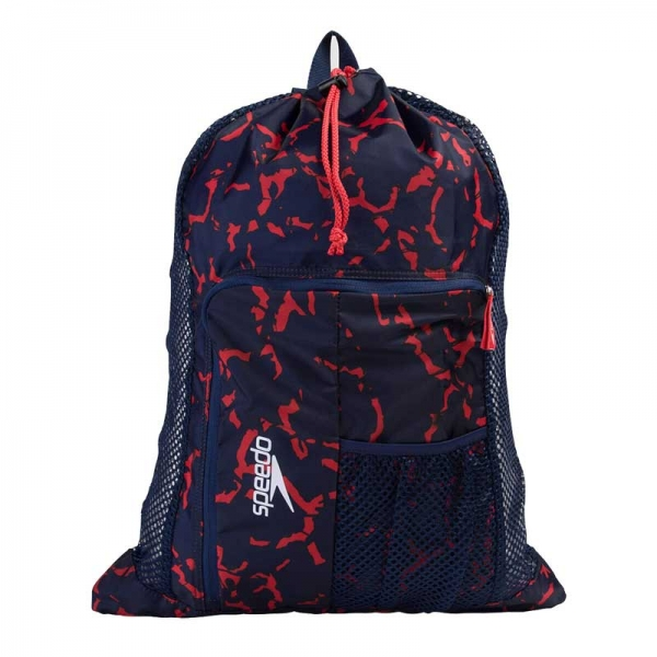 Сумка спортивная DELUXE VENT MESH BAG XU BLUE/RED PRT