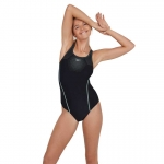 Купальник Speedo TECH PLMT MEDALIST AF BLACK/GREEN