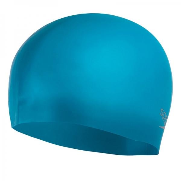 Шапочка для плавания Moulded silicon Cap au blue