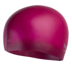 Шапочка для плавания Moulded silicon Cap au purple