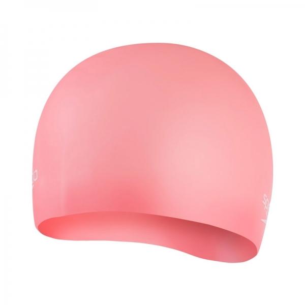 Шапочка для плавания Speedo Moulded Silc Cap Au Pink (8-70984F913)